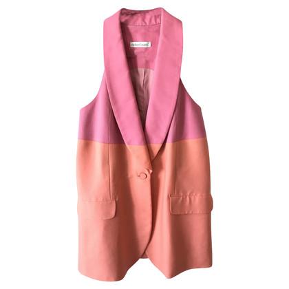 Richard Nicoll Vest in bi-color
