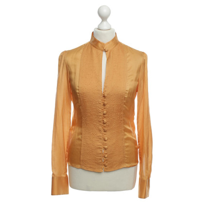 Hugo Boss Bluse in Orange