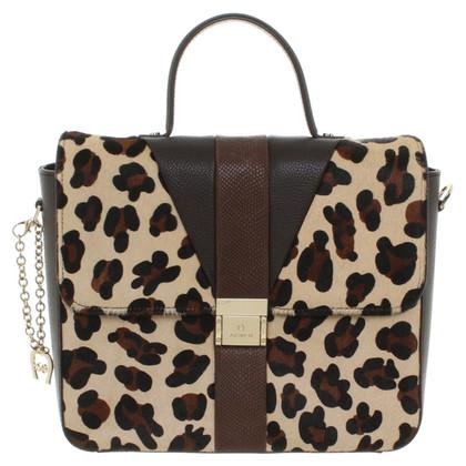 Aigner Handbag with leopard print