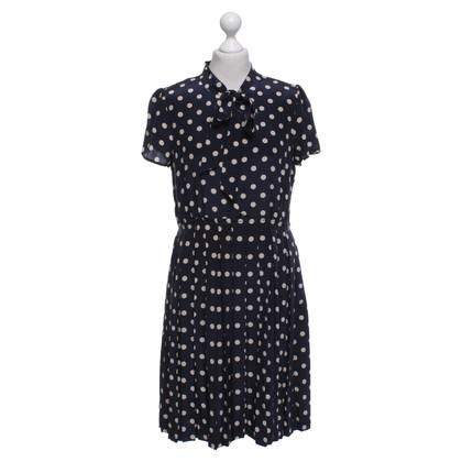 J. Crew Dress with polka dots