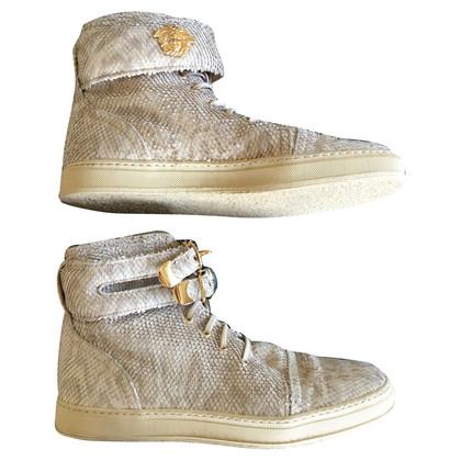Gianni Versace chaussures de sport de haute-top