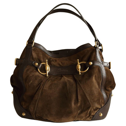Gucci Jockey Medium Tote Handbag