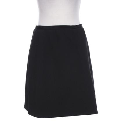 Carven Issued skirt in black