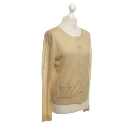 Hugo Boss Short cardigan in beige
