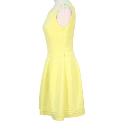 Hugo Boss Gele jurk