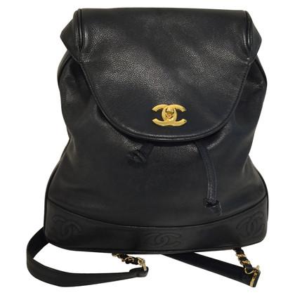 Chanel pelle caviale zaino