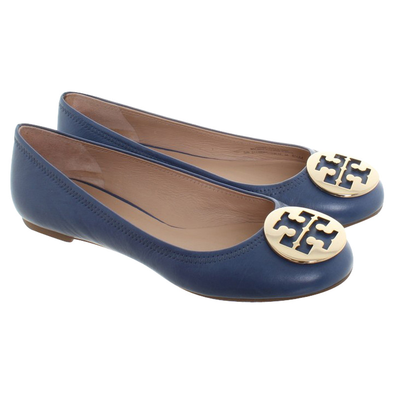 Tory Burch Ballerinas in blue Tory Burch Ballerinas in blue ...