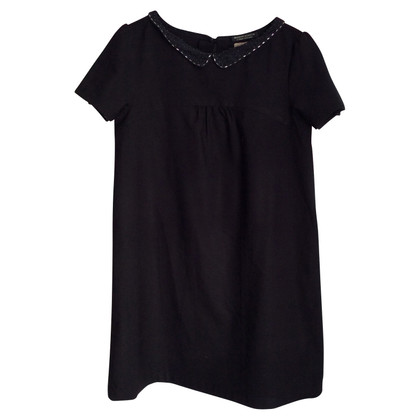 Maison Scotch Abito nero con colletto