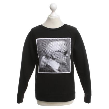 Karl Lagerfeld Felpa in Black