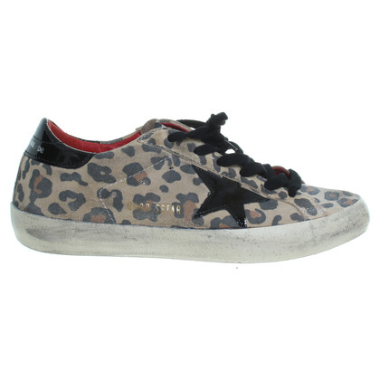 Golden Goose Animal-Print Sneakers