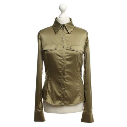 Versace Blouse in olive