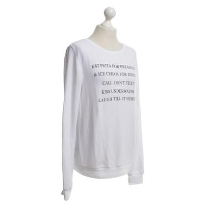 Wildfox Sweatshirt in White