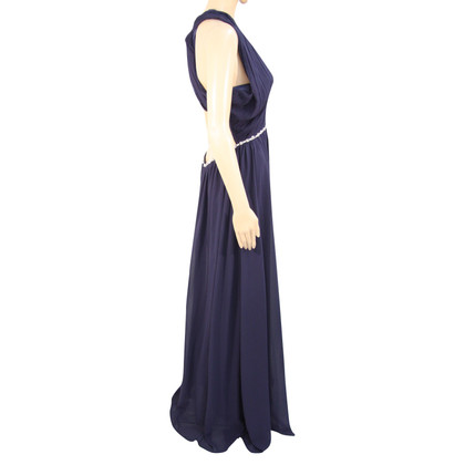 Barbara Schwarzer Maxi dress in dark blue
