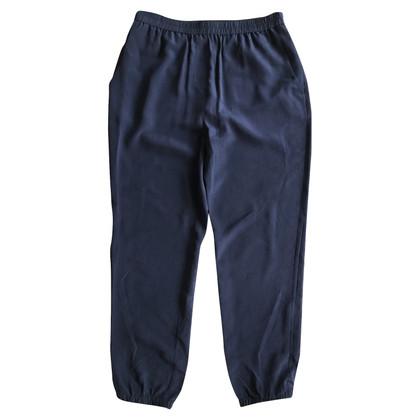 Schumacher trousers from silk