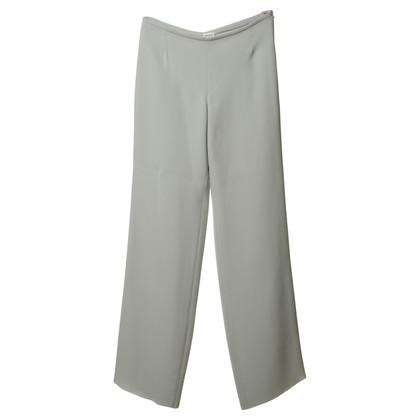 Armani Collezioni Sciopero Pantaloni grigio chiaro