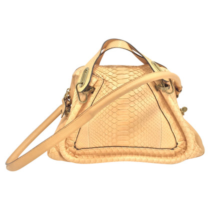 "Chloé Python leather ""Paraty Bag"""