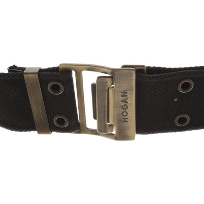 Hogan Belt with hole rivets