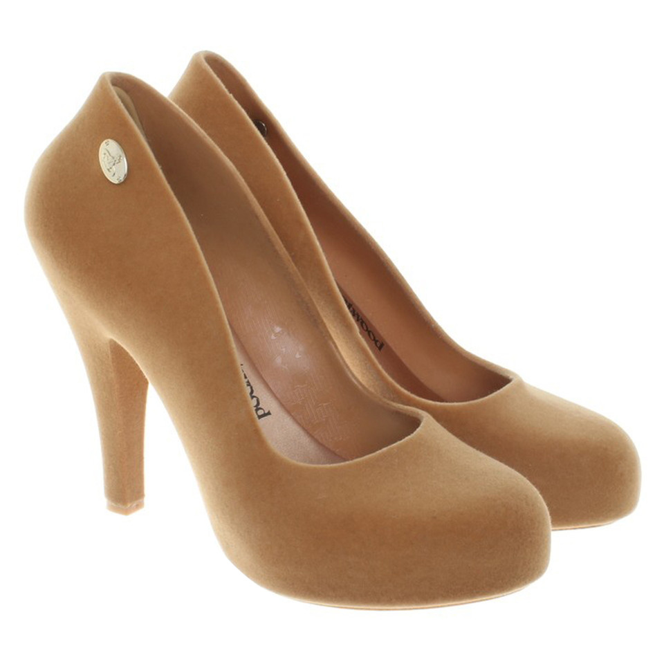 Vivienne Westwood pumps in light brown