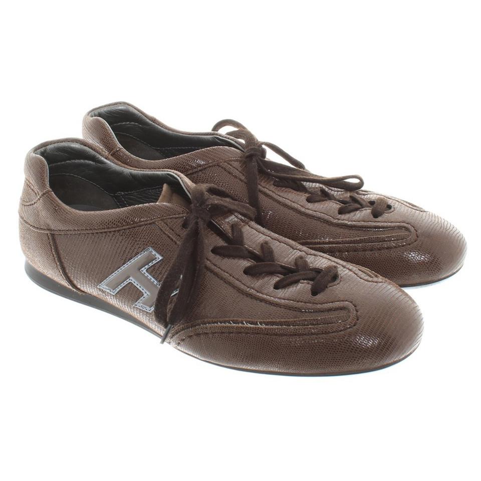 Hogan Sneakers in brown