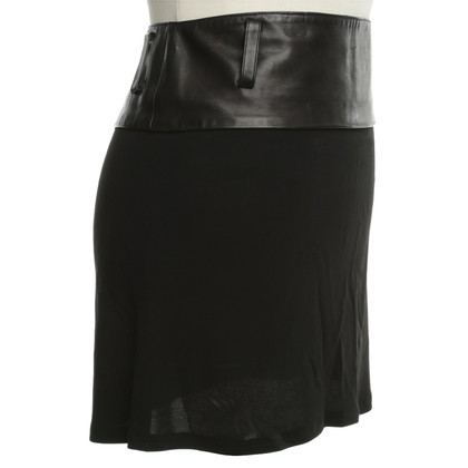 Jitrois skirt with leather collar