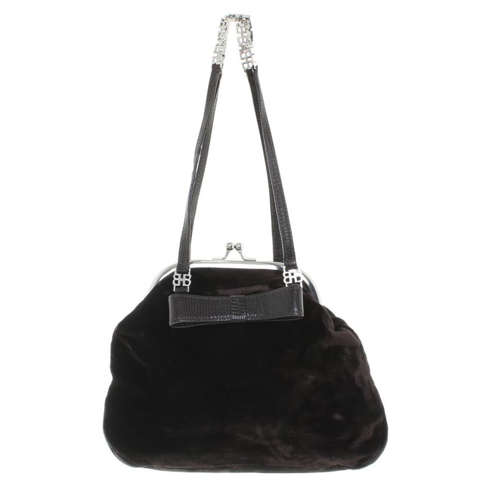 Hugo Boss Handbag made of velvet