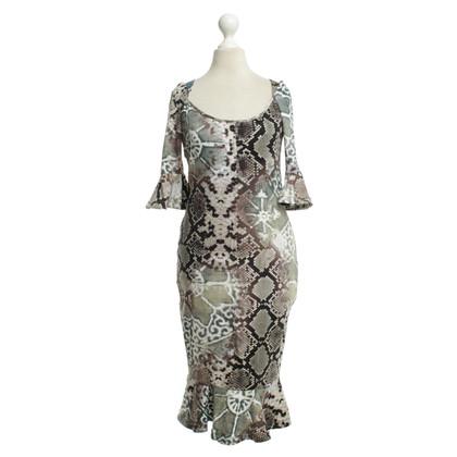 Andere Marke Just Cavalli - Kleid mit Animal-Design