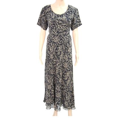 DKNY zijden jurk met patroon