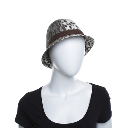 Just Cavalli Hat with leopard pattern