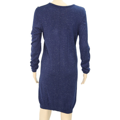 Whistles Knitted dress in dark blue