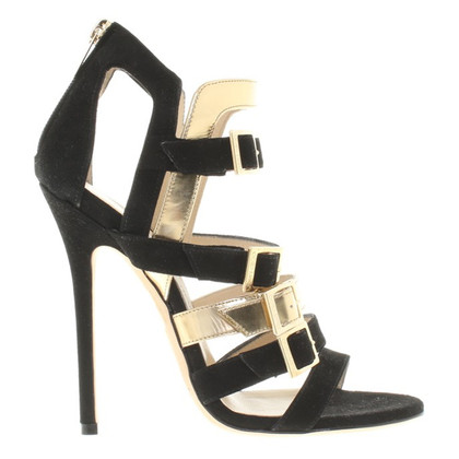 Jimmy Choo Sandali in oro / nero