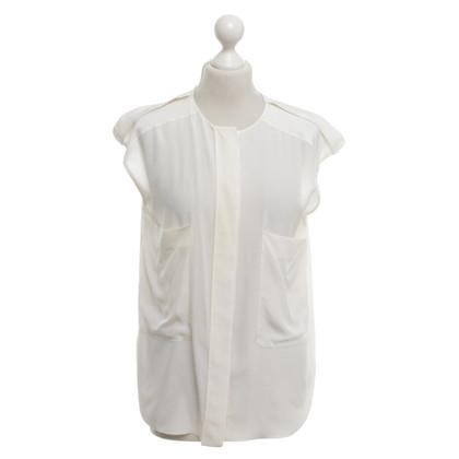 Chloé Zijden blouse in crème