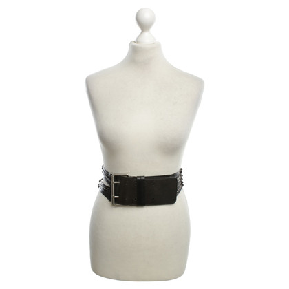 Strenesse Blue Leather belt