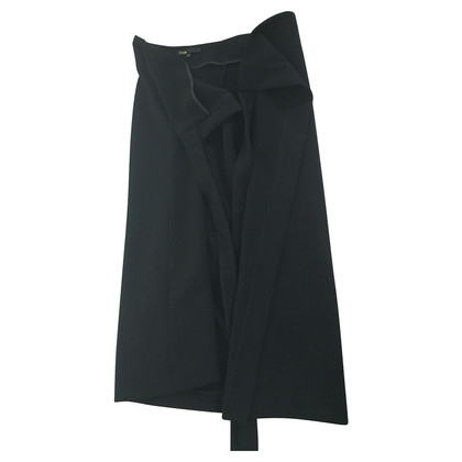 Maje Wikkel rok in zwart