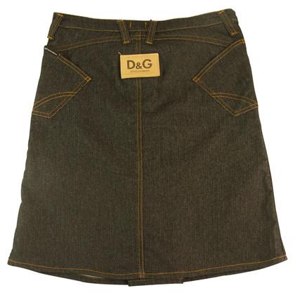 Dolce & Gabbana Rock aus Denim