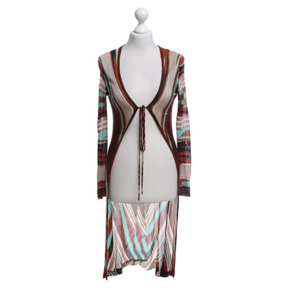 Missoni Multicolored knitted coat