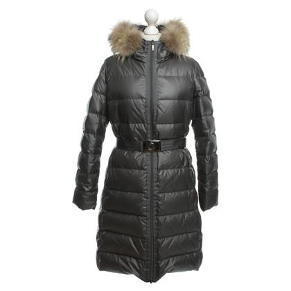Moncler Giù cappotto grigio