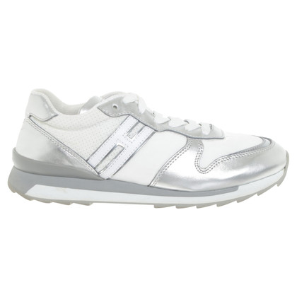 Hogan Sneaker with silver-colored details