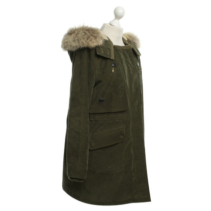 Marc by Marc Jacobs Parka mit Fellkapuze