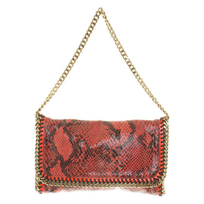 "Stella McCartney ""Falabella Crossbody Bag"" in reptile look"