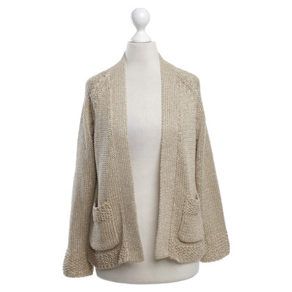Steffen Schraut Cardigan in gold color