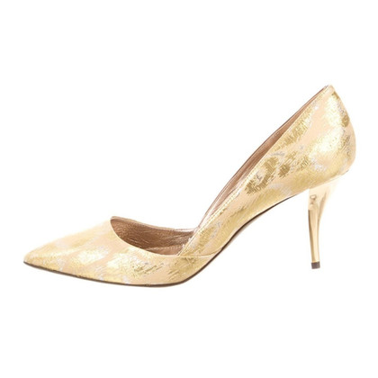 Lanvin Golden pumps d'Orsay