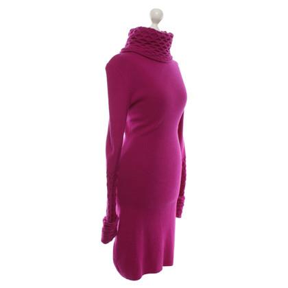 Temperley London Knit dress in fuchsia