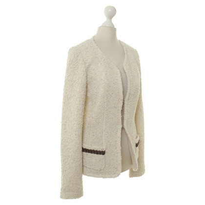 Aigner Giacca bouclé in crema