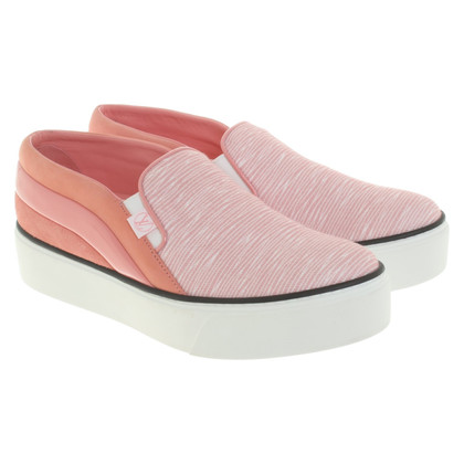 Louis Vuitton Rose-colored slip-ons