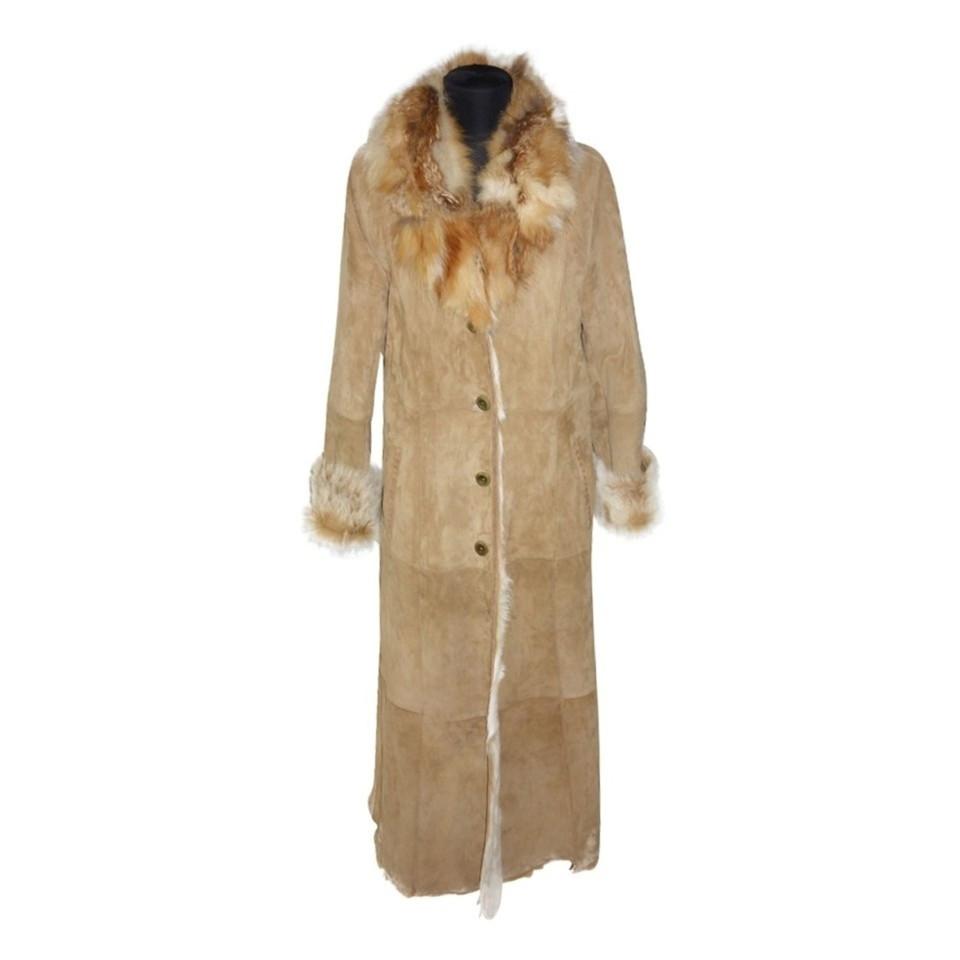 max mara long manteau en peau de ch vre acheter max mara long manteau en peau de ch vre second. Black Bedroom Furniture Sets. Home Design Ideas