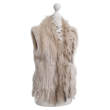 Oakwood Rabbit fur vest