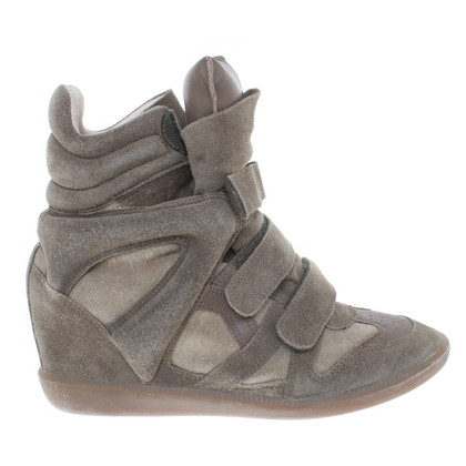 Isabel Marant '' Beckett sneakers '' in Khaki