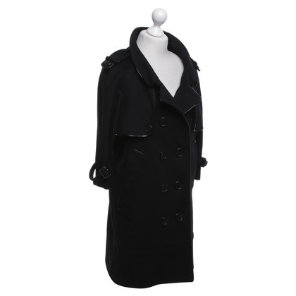 Burberry Prorsum Trench in zwart