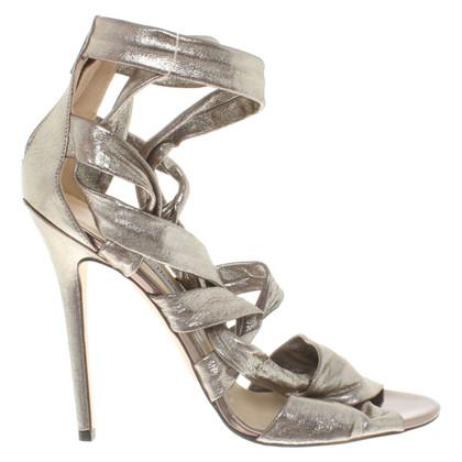 Jimmy Choo Metallic sandalen