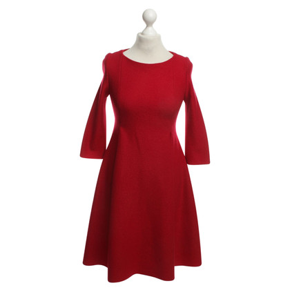 Cacharel Robe rouge en laine